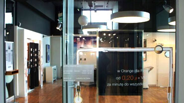 Sales Showroom Orange